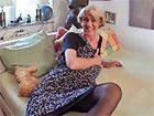 Abuela alemana follando como una perra en celo