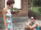 Madura latina se lo monta con el joven vecino