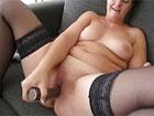 Madura cerda se masturba en el videochat x